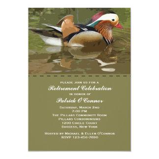 Vattenfågelinbjudan 12,7 X 17,8 Cm Inbjudningskort