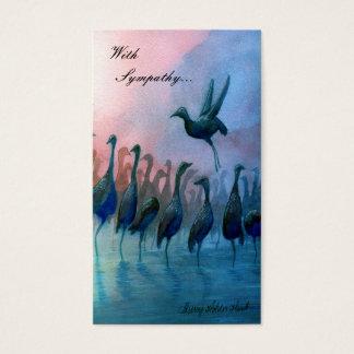 Vattenfåglar, med sympati…, - Skräddarsy Visitkort