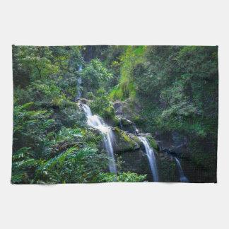 Vattenfall i Maui Hawaii Handhandukar