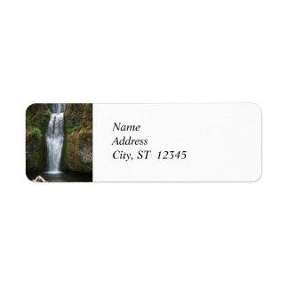 Vattenfallreturadressetikett Returadress Etikett