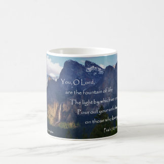 VattenfallYosemite dal, Scripture för Psalm 38 Kaffemugg