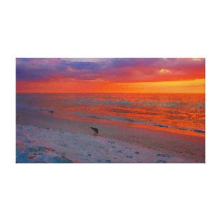 Anna Maria Island Sunset Watercolor
