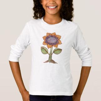Vattenfärgblomma T Shirts
