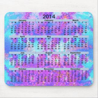 VattenfärgFractal Mousepad för 2014 kalender Musmatta
