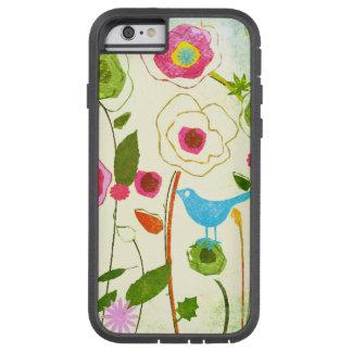 Vattenfärgträdgårdblommor Tough Xtreme iPhone 6 Case