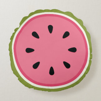 Vattenmelon Rund Kudde