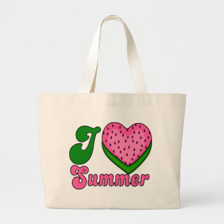 vattenmelon sommar jumbo tygkasse