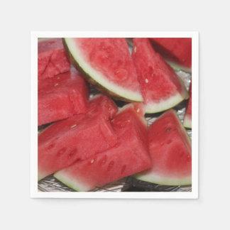 Vattenmelonfoto Servett