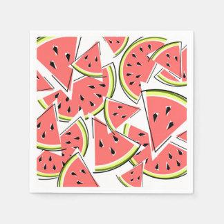 Vattenmelonservettpapper Servetter