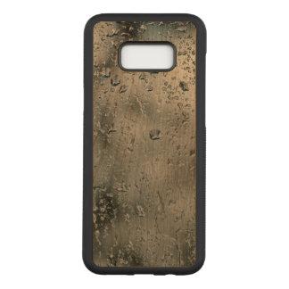 VattenSamsung galax S8+ Slankt körsbärsrött Wood Carved Samsung Galaxy S8+ Skal