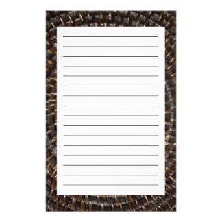 Vävt mattt brevpapper
