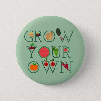 Väx ditt eget standard knapp rund 5.7 cm