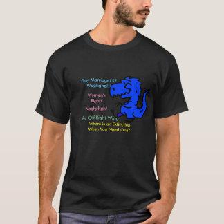 Väx upp skjortan för right wing t tröjor