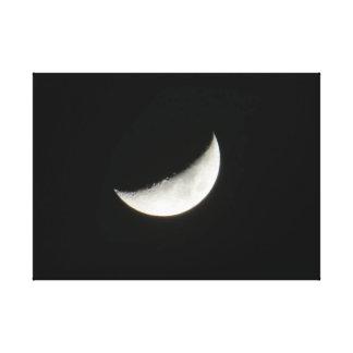 Vaxa den växande månen canvastryck