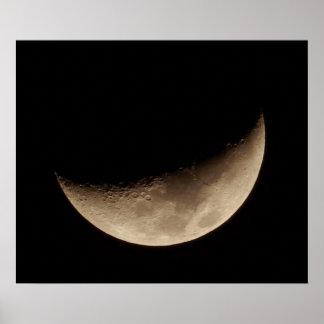 Växande måne poster