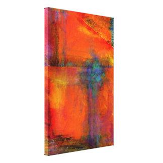 Växelverkan av dekoren för vägg för canvastryck