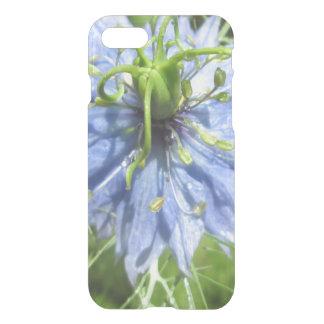 Växt för blommar för Nigella blåttgrönt iPhone 7 Skal