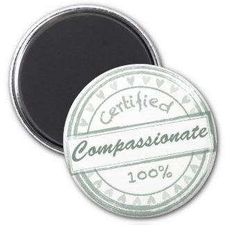 Vegan Compassionate Refrigerator Magnet