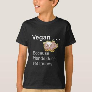 Vegan - därför att vänner inte äter vänner tröjor