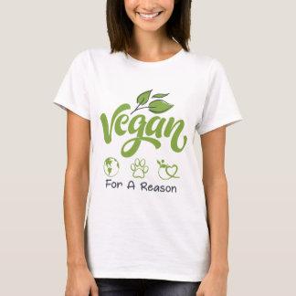 Vegan för en grundläggande T-tröja för T Shirt