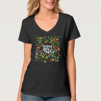 VEGAN FÖR LIVT-tröja Tee Shirts