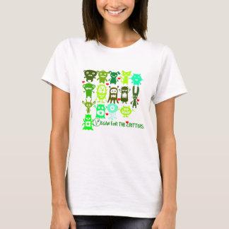 Vegan för nötkreaturen! dam tshirt tshirts