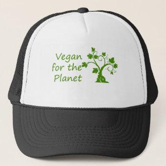 Vegan för planet truckerkeps