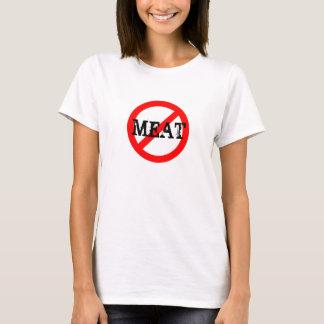 Vegan INGEN KÖTTskjorta Tshirts