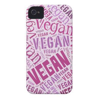 """""""Vegan"""" Ord-Moln mosaik Case-Mate iPhone 4 Fodral"""