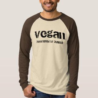 Vegan som drivas av växter tee shirt