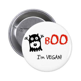 Veganen knäppas knapp med nål