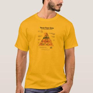 Veganmat vägleder skjortan t shirts