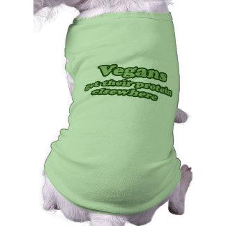 Vegans får deras protein någon annanstans hundtröja