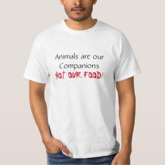 Veganskjortadjur är vår följeutslagsplats tshirts