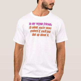 veganvänner som stängs upp tee shirts