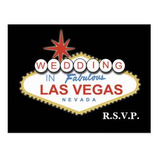 Vegas bröllop OSAkort Vykort