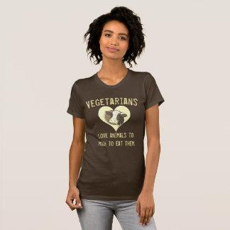 Vegetariankärlekdjur T-shirt
