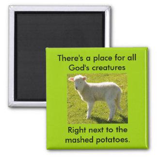 Vegetarianmardröm Magnet