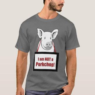 Vegetarisk VeganHog inte Porkchop T-shirts