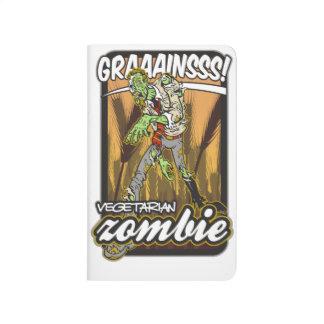 Vegetarisk Zombie Anteckningsbok