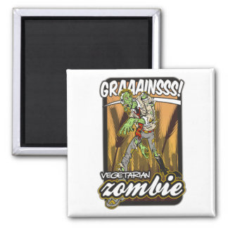 Vegetarisk Zombie Magnet