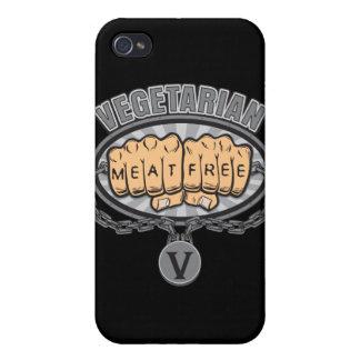 Vegetariska nävar iPhone 4 hud