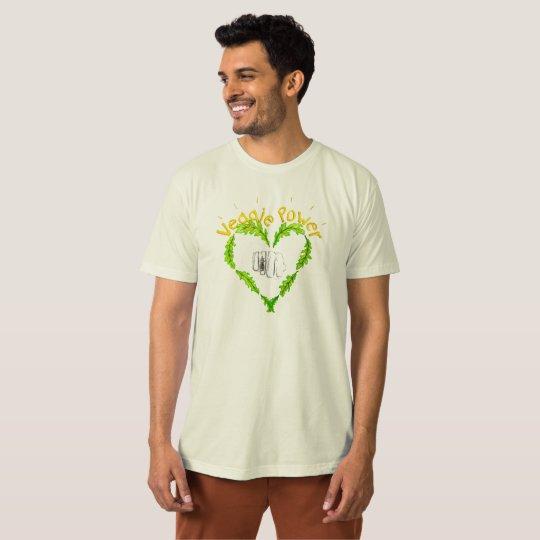 Veggie Power Ekologisk T-shirt