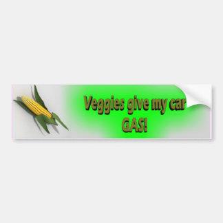 Veggies ger min bil gasar klistermärken