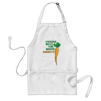 Veggiess morötter förkläde