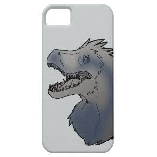 Velociraptorblått iPhone 5 Case-Mate Skydd