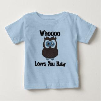 Vem älskar dig babyT-tröja Tröja