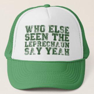 Vem annat som Yeah ses hatten för trollnågot att Truckerkeps