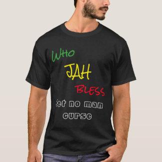 Vem Jah välsignar, låter ingen man förbanna T-shirt