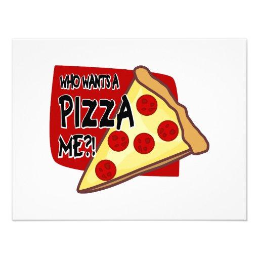 Vem önskar en Pizza mig?! Tillkännagivande
